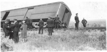 Colorado train wreck