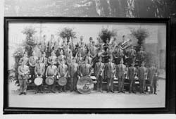 Syrian Temple Shrine Band in San Francisco, 1922