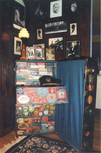 William Herb's trunk used while a member of the Sousa Band