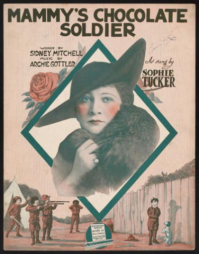 Mammy's Chocolate Soldier, cover