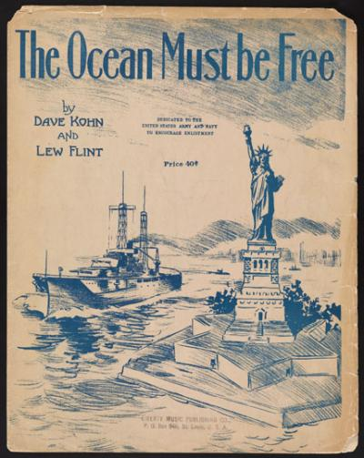 The Ocean Must Be Free, cover