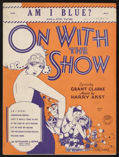 On With The Show, cover